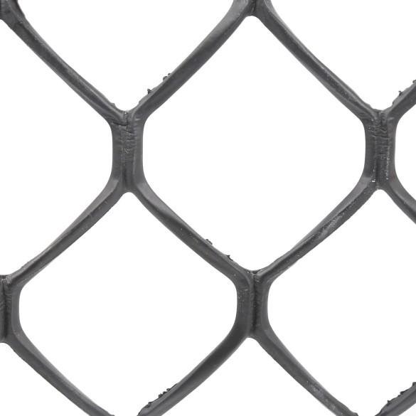 Tenax Sentry HD Heavy Duty Safety Fence 4' X 50' Black 64315809