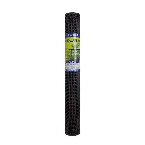 Tenax Hardware Net 3' x 25' Black - 62073039