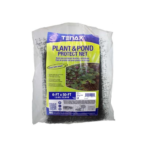 Tenax Plant and Pond Protect Net Bag 6' x 50' Black - 2A160063