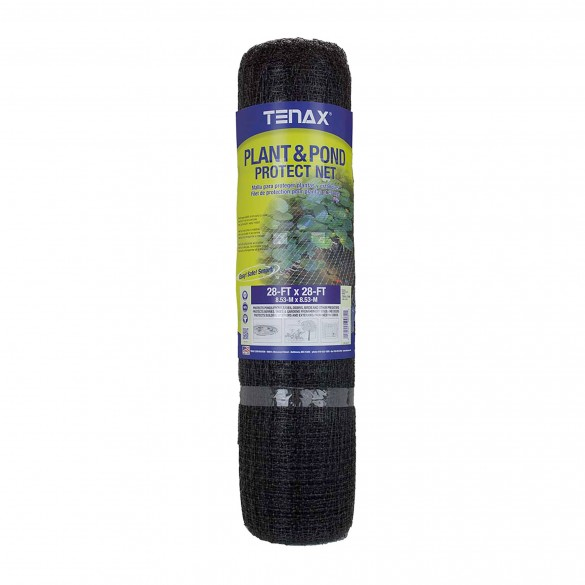Tenax Plant and Pond Protect Net Roll 28' x 28' Black - 2A140072