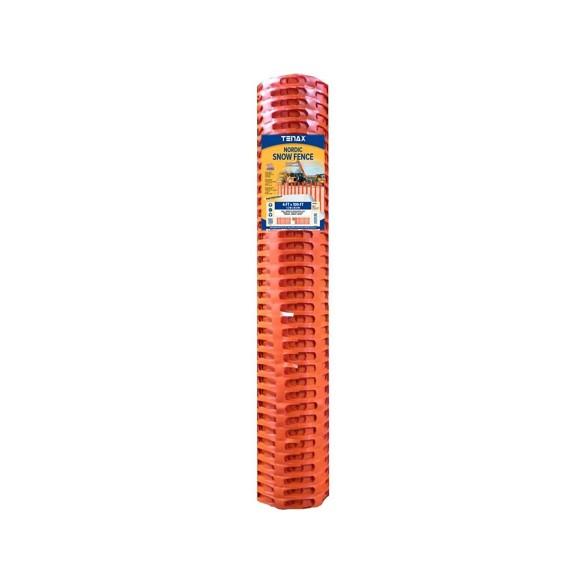 Tenax Nordic Plus II Snow Fence 4' X 100' Orange 90853704