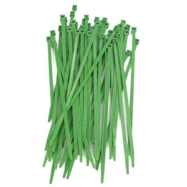 "7"" Green Tenax Fence Ties (Pack of 500)"