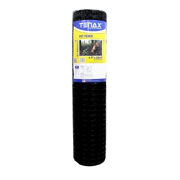 Tenax Pet Fence Select 5' x 330' Black 2A140076