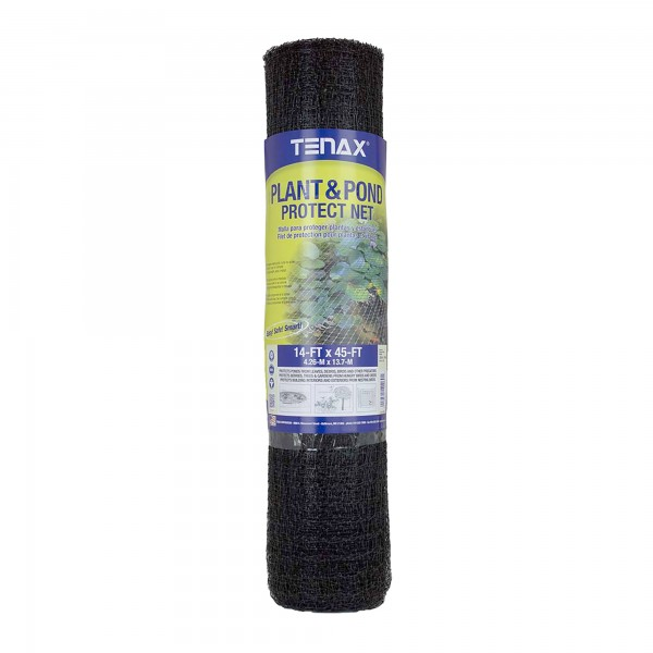 Tenax Plant and Pond Protect Net Roll 14' x 45' Black - 2A140069