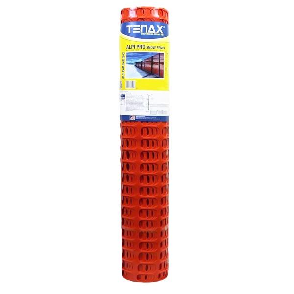 Tenax Alpi Heavy Duty Snow Fence 4' X 50' Orange 92013504