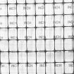 Tenax Deer Net Folded 7' x 100' Black 2A040006 (Grid Shown For Scale)
