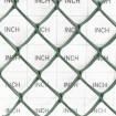 """Tenax TR Turf Reinforcement 6.7' X 100' Green 64313308 (Grid Shown For Scale) - 1.375"""" x 1.25"""" Mesh"""