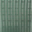 Tenax Windguard Protection Mesh 3.28' X 98.4' Green 63610308 (Shown Over 1 Inch Grid For Scale)